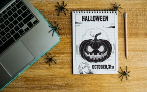 halloween-laptop writing jobs canada