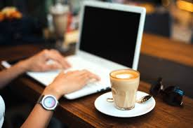 laptop coffee writing jobs canada
