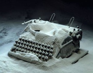 snow typewriter writing jobs canada