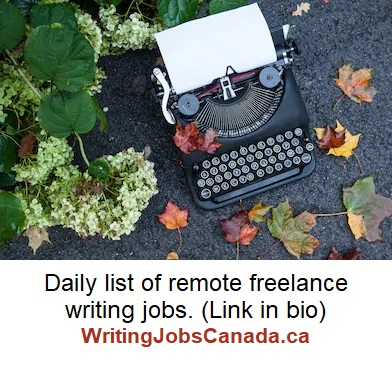 fall typewriter writingjobscanada insta