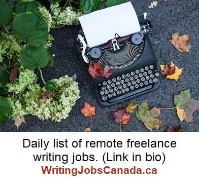 fall typewriter writingjobscanada insta